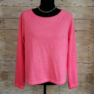 Gap Factory Open Back Pink Sweatshirt